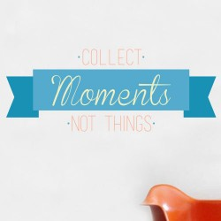 Collect Moments Wall Decal