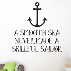 Skillful Sailor Wall Decal