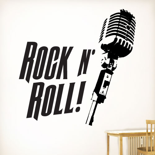 View Product Rock N Roll Wall Decal