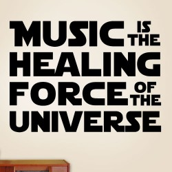 Music Force Of The Universe Wall Decal