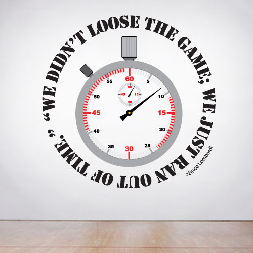 View Product We didn't loose Wall Decal