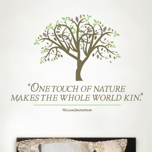 View Product Touch Of Nature Wall Decal