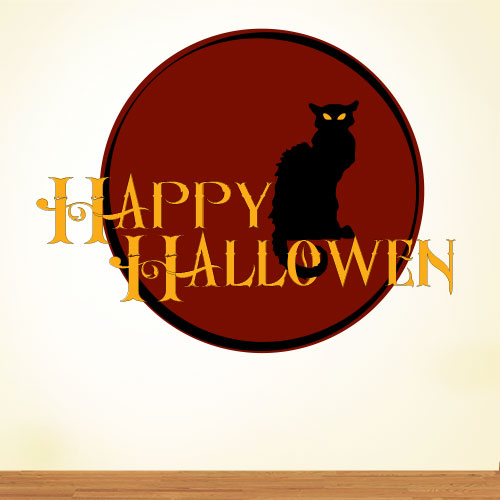 View Product Happy Halloween Wall Decal
