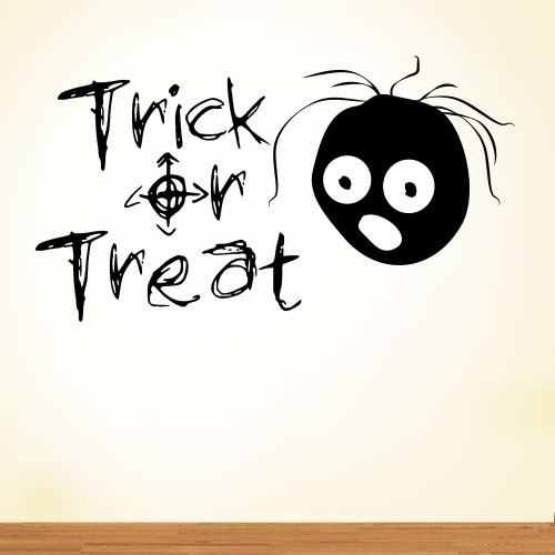 View Product Trick Or Treat Wall Decal