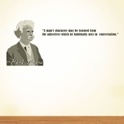 A Mans Character Wall Decal