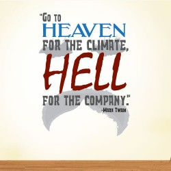 Go To Heaven Wall Decal