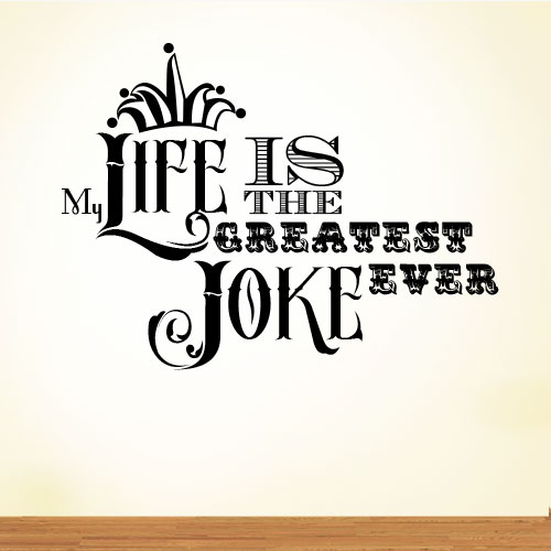 View Product My Life Is The Greatest Wall Decal