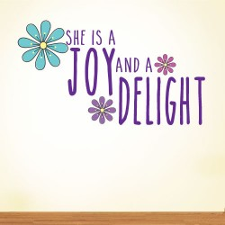 She Is A Joy Wall Decal